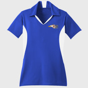 Ladies Side Blocked Micropique Sport Wick ® Polo LST655