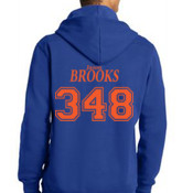 Jason Brooks Lace Up Pullover Sweatshirt