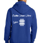 *Custom* Laced Pullover Hooded Sweatshirt